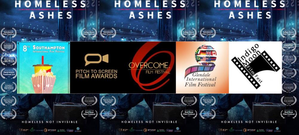 Homeless Ashes Ends Festival Run With 10 Awards