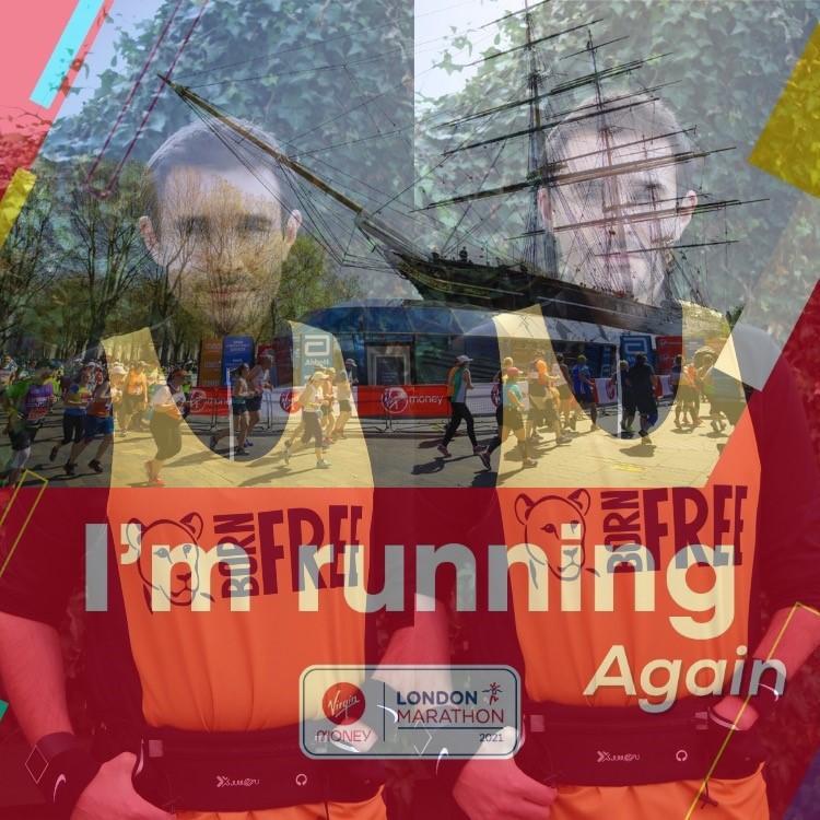 Running the 2021 London Marathon for Born Free