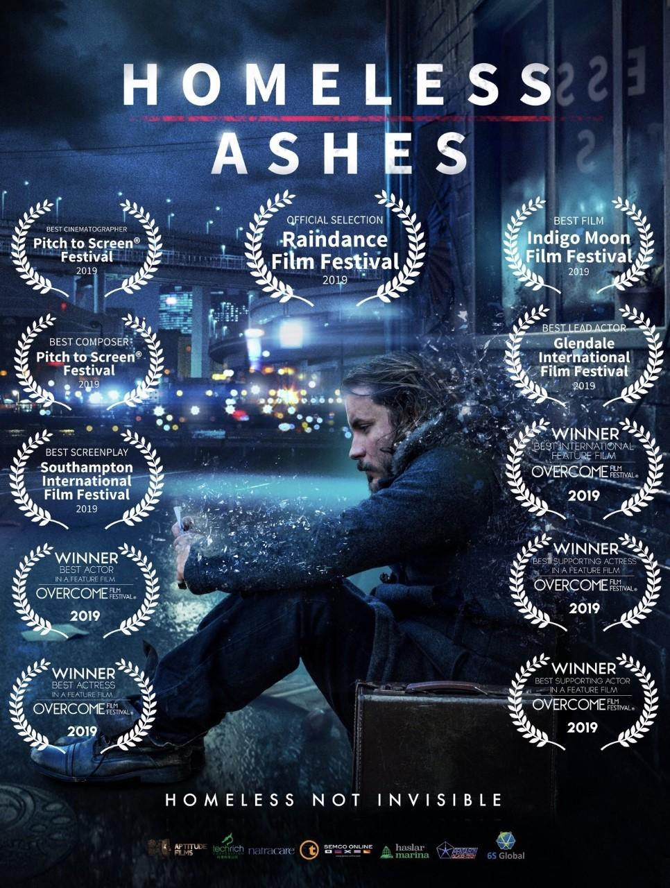 Homeless Ashes Cinema showings