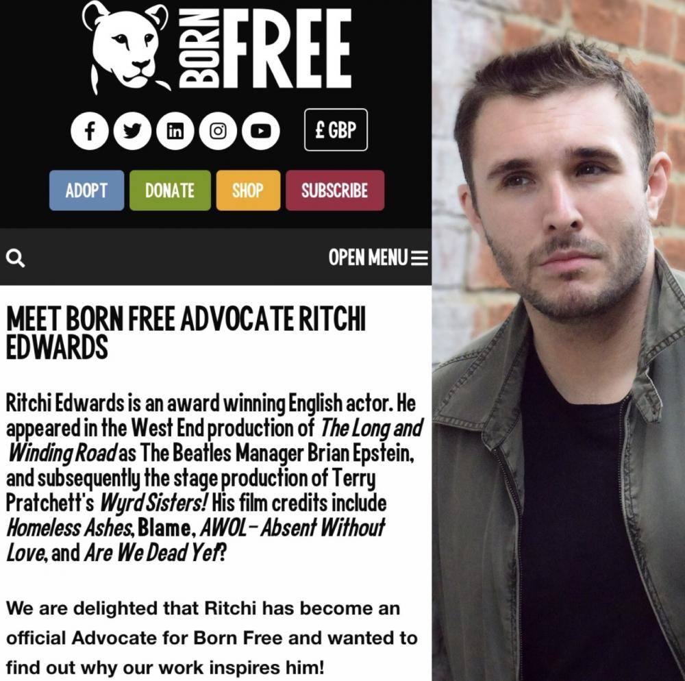 Meet Born Free Advocate Ritchi Edwards - interview