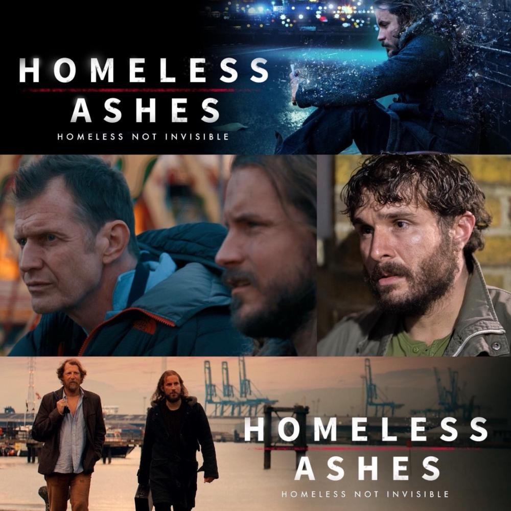 Homeless Ashes is now available in the US & Worldwide