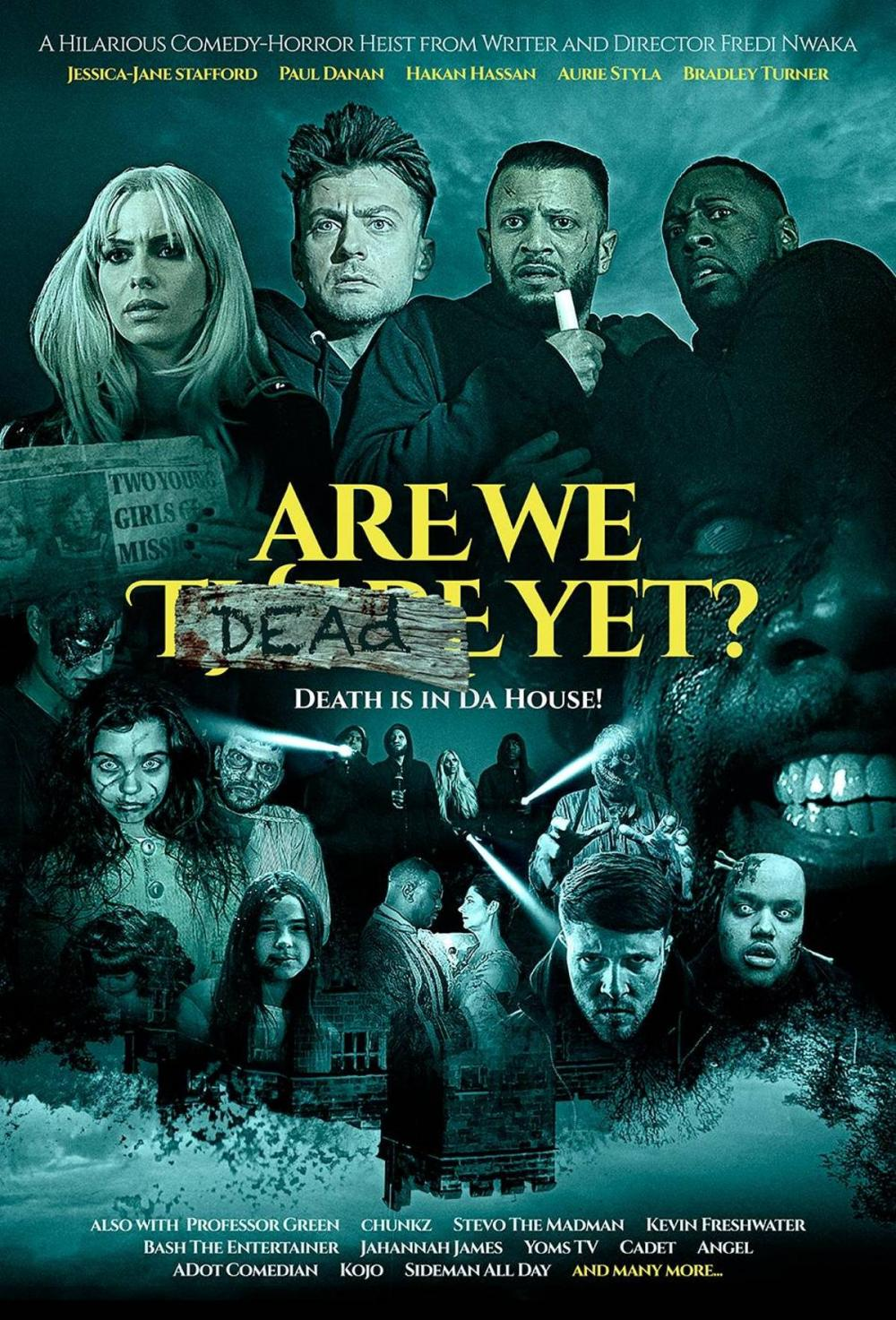 BRAND NEW Are We Dead Yet? poster